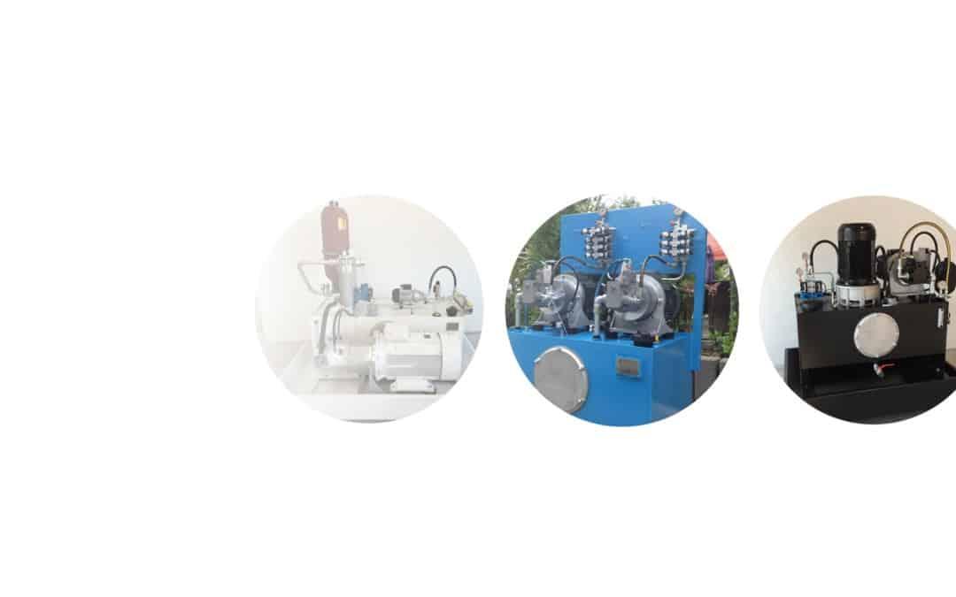 Industrieaggregate, max. 350 bar (ew/dw)