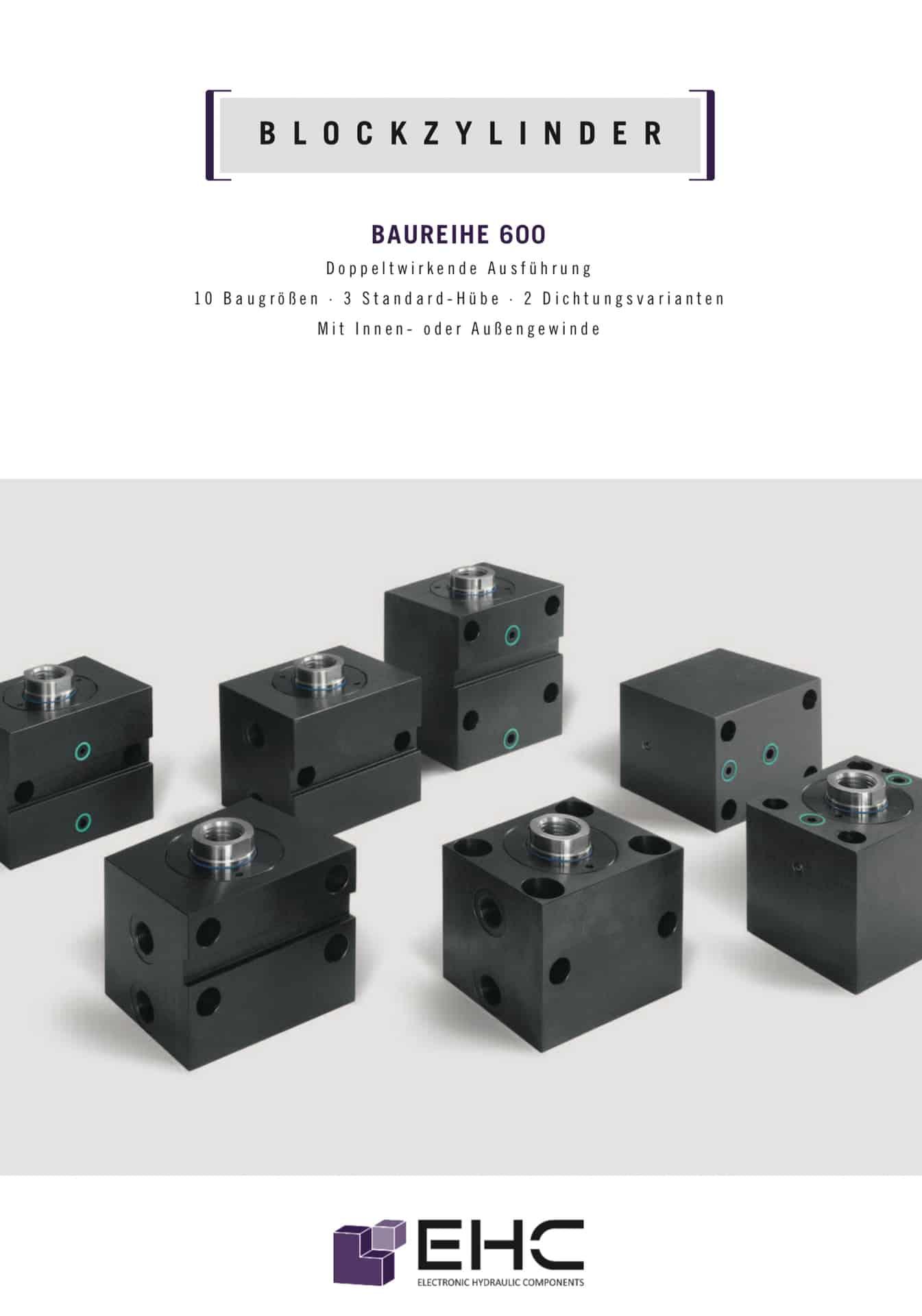 Blockzylinder Stahl