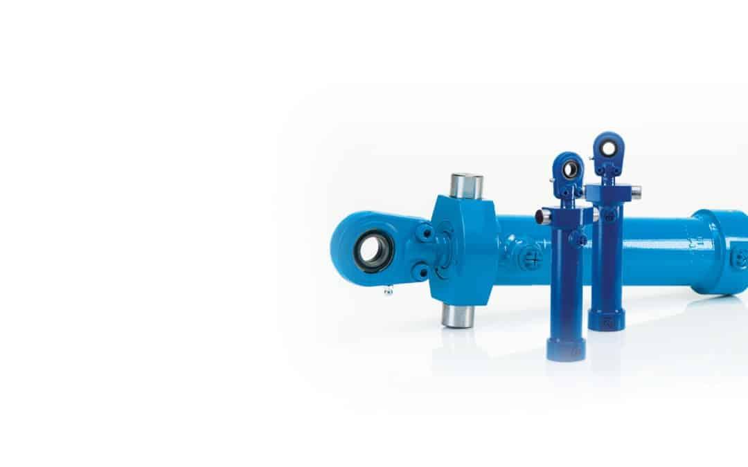 Industriezylinder mit Schwenkzapfen, max. 200 bar (dw)
