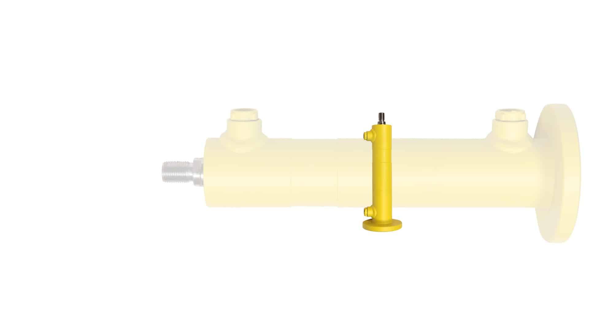 hydraulische Industriezylinder mit Flansch kolbenseitig