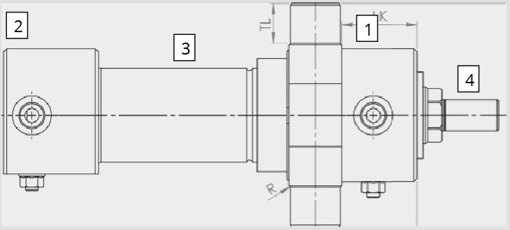 hydraulische Industriezylinder Ausführung